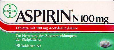 Bayer Vital GmbH Geschäftsbereich Pharma Aspirin N 100mg