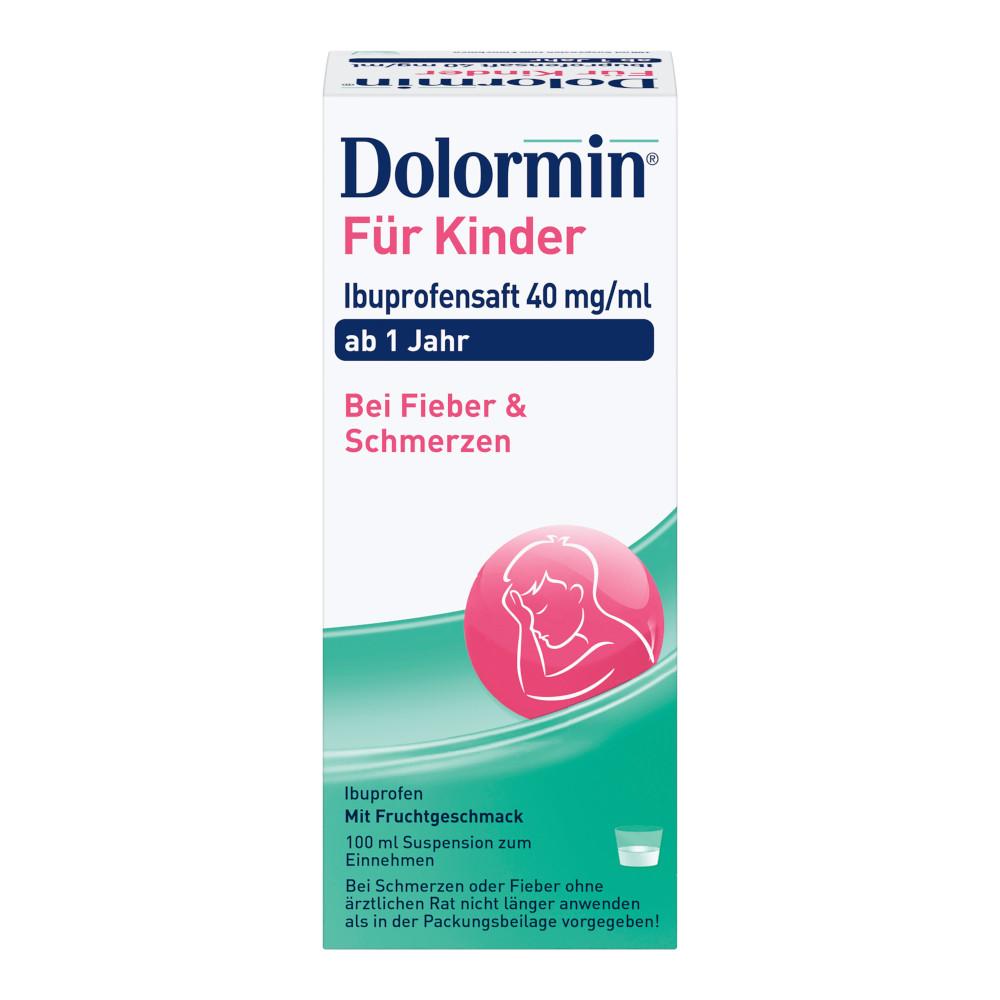 Dolormin für Kinder Ibuprofensaft 40mg/ml Suspension 100