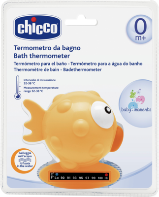 BADETHERMOMETER Fisch orange CHICCO