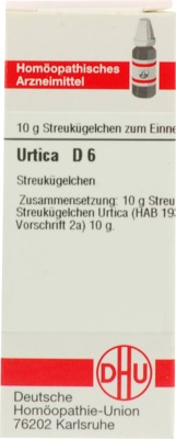 URTICA D 6 Globuli