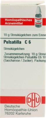 PULSATILLA C 6 Globuli