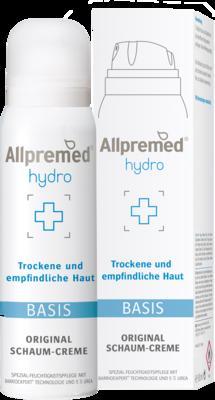 Allpremed hydro Original Schaum-Creme BASIS