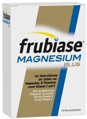 FRUBIASE MAGNESIUM Plus Brausetabletten
