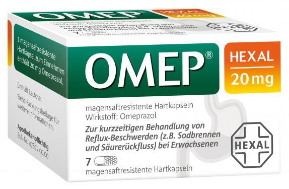 OMEP HEXAL 20mg