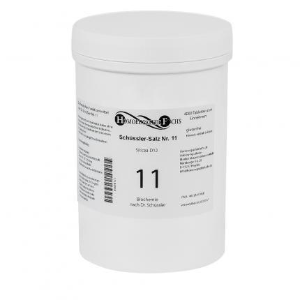 HOMOEOPATHIEFUCHS Schüssler-Salz Nummer 11 Silicea D12 Biochemie