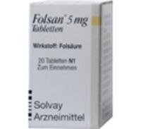 FOLSAN 5 mg Tabletten