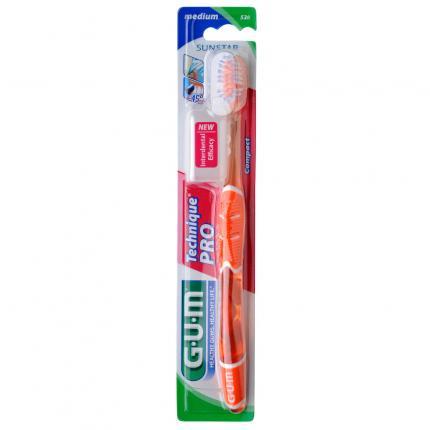 GUM Technique PRO Compact Zahnbürste medium