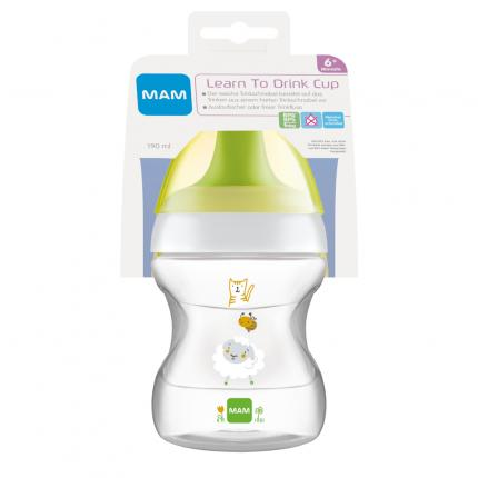MAM Learn to Drink Cup Fashion 190 ml