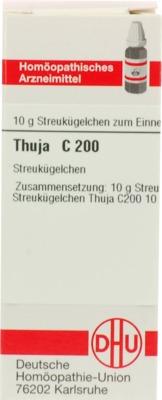 THUJA C 200 Globuli