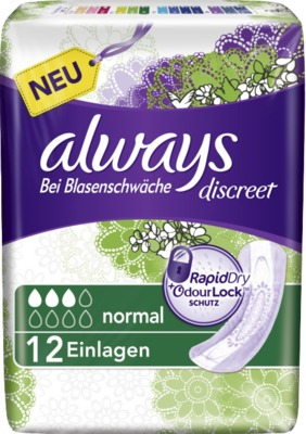 ALWAYS discreet Inkontinenz Binden normal