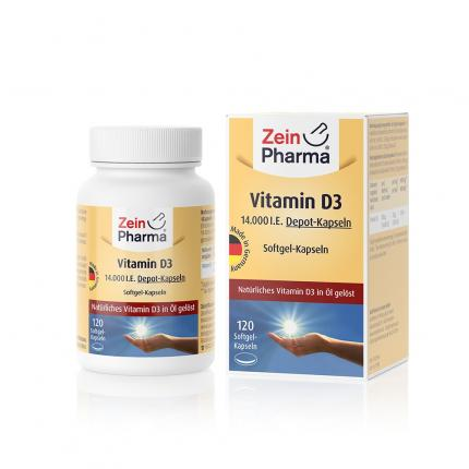Vitamin D3 14.000 I.e. Softgel-kapseln Zeinpharma