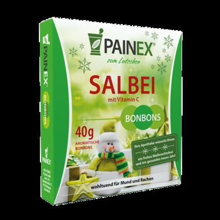 SALBEIBONBONS mit Vitamin C Painex