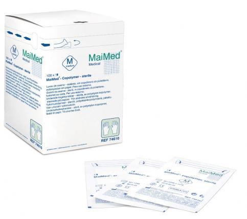 MAIMED Copolymer Handschuh steril Gr.S einz.verp.