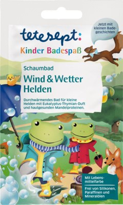 TETESEPT Kinder Badespaß Schaumb.Wind+Wetter Held.