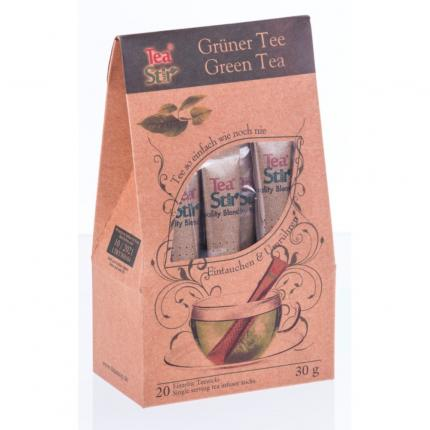 TEA STIR grüner Tee Sticks