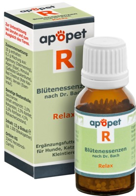 APOPET R Relax Blüteness.n.Dr.Bach Glob.vet.