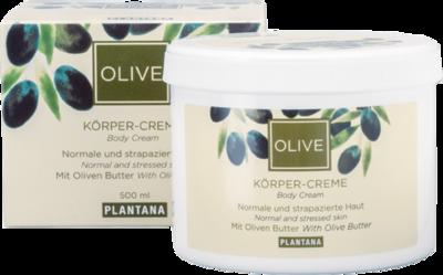 PLANTANA Olive Butter Körper Creme
