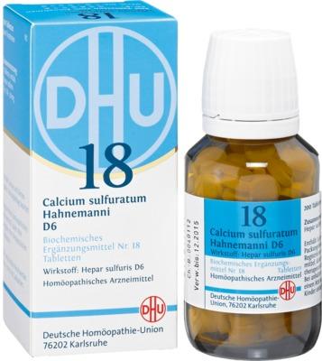 BIOCHEMIE DHU 18 Calcium sulfuratum D 6 Tabletten