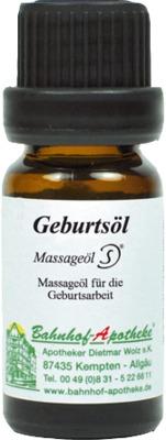 Geburtsöl Massageöl