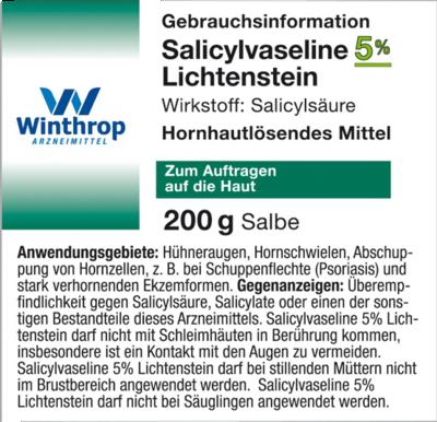 Salicylvaseline 5% Lichtenstein