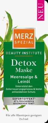 MERZ Spezial Beauty Institute Detox Maske