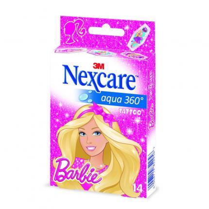 Nexcare Aqua 360° Pflaster Barbie