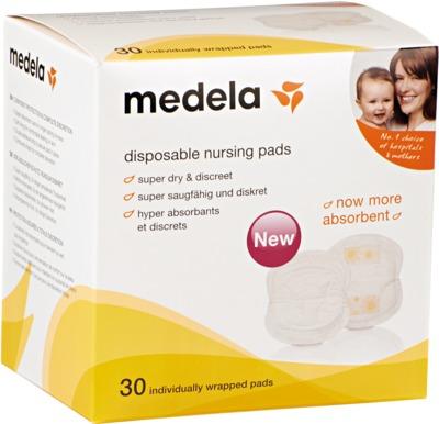 MEDELA Safe & Dry™ Einweg-Stilleinlagen (30 St.)