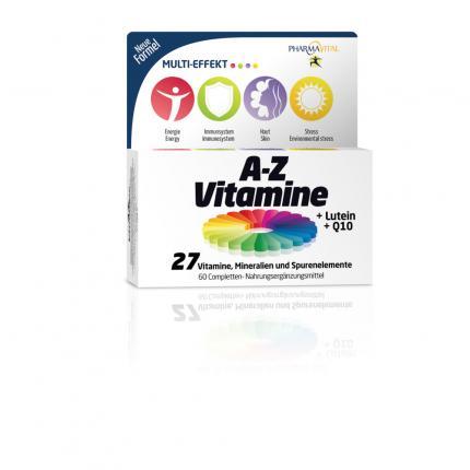 PHARMAVITAL A-Z Vitamine+Lutein+Q10 Tabletten