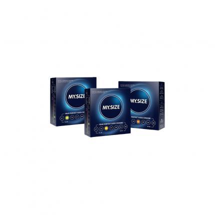 MYSIZE Testpack 49 53 57 Kondome