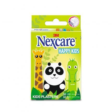 Nexcare Kids Pflaster Tiere