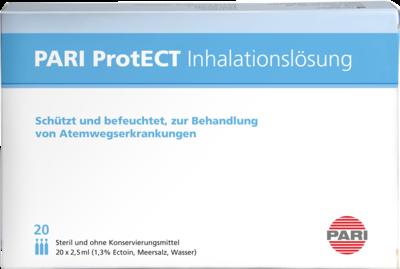 PARI ProtECT Inhalationslösung mit Ectoin Ampullen
