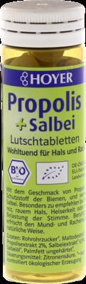 HOYER Propolis & Salbei Lutschtabletten