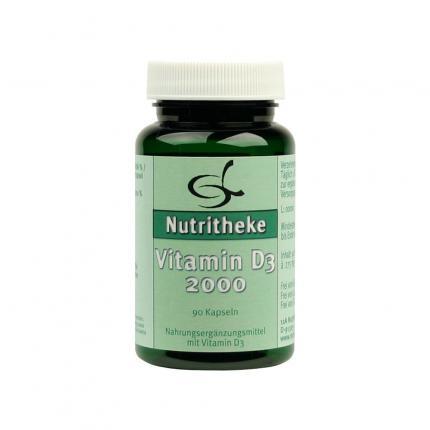 Vitamin D3. 2.000 I.e. Kapseln