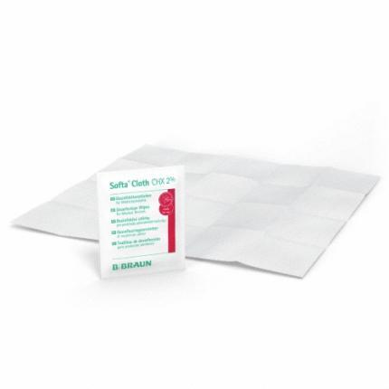 SOFTA CLOTH CHX 2% Desinfektionstücher