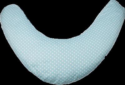 LIBERTY Luna Stillkissen mit Bezug blau