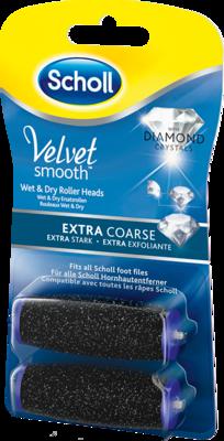SCHOLL Velvet smooth Expr.Pedi Ersatzro.ex.stark