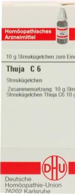 THUJA C 6 Globuli