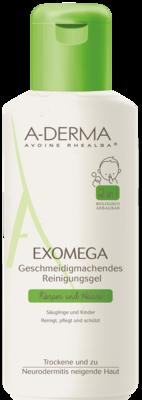 A-DERMA EXOMEGA geschmeidigm.Reinigungsgel 2in1