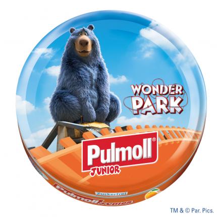 PULMOLL Junior Orange m.Vitam.ACE o.Z.Bonbons