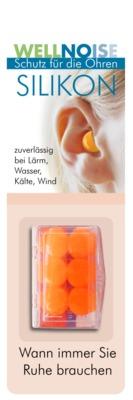 WELLNOISE Ohrenstopfen orange Blister