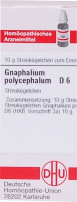 GNAPHALIUM POLYCEPHALUM D 6 Globuli