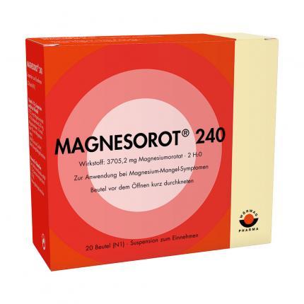 MAGNESOROT 240 Beutel
