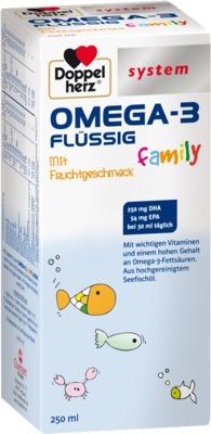 Doppelherz system OMEGA-3 FLÜSSIG family
