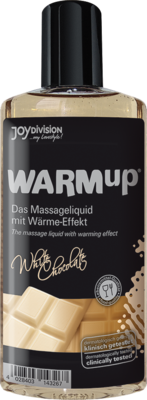 WARMUP weiße Schokolade Massageliquid