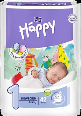 BELLA Happy Babywindel Newborn 2-5 kg Gr.1 Big P.