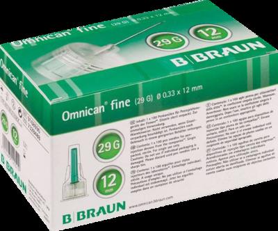 OMNICAN fine Pen Kanüle 0,33x12 mm