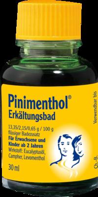 Pinimenthol Erkältungsbad