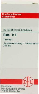 RUTA D 6 Tabletten