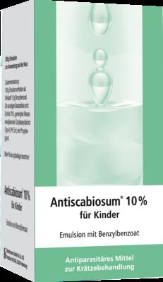 Antiscabiosum 10% für Kinder
