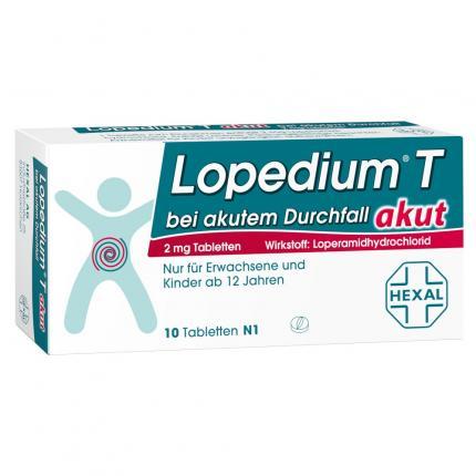 Lopedium T akut